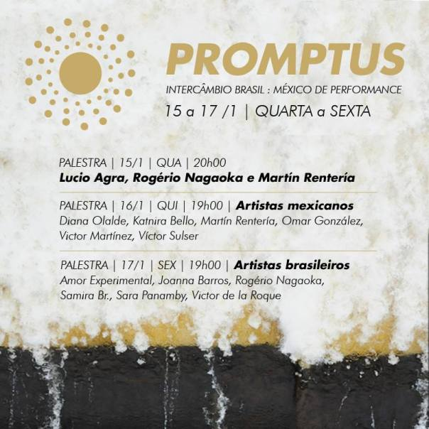 Hoje às 20h00 - Palestra com Lucio Agra, Rogério Nagaoka e Martín Rentería